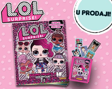 L.O.L.Surprise! Budimo prijatelji kolekcija