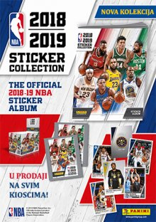 NBA 2018-2019 STICKER COLLECTION