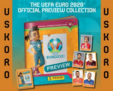 The UEFA EURO 2020 Official PREVIEW Collection