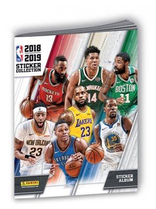 NBA 2018-2019 STICKER COLLECTION - ALBUM