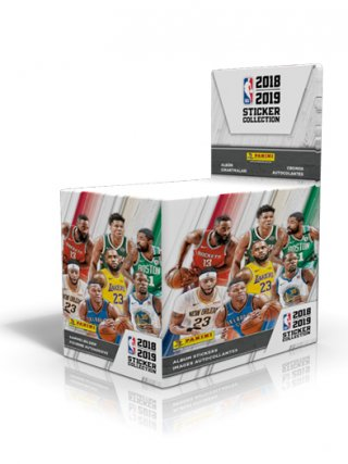 NBA 2018-2019 STICKER COLLECTION - KUTIJA