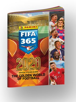 PANINI FIFA 365 - The Golden World of Football 2020 ALBUM