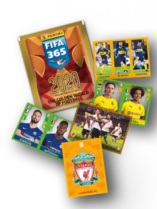 PANINI FIFA 365 - The Golden World of Football 2020 KESICA