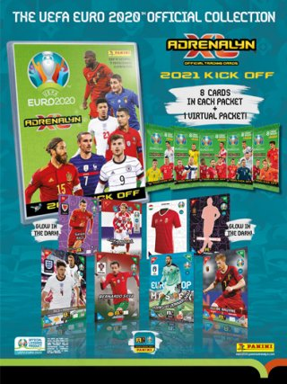 UEFA EURO 2020 TRADING CARDS STARTER PACK
