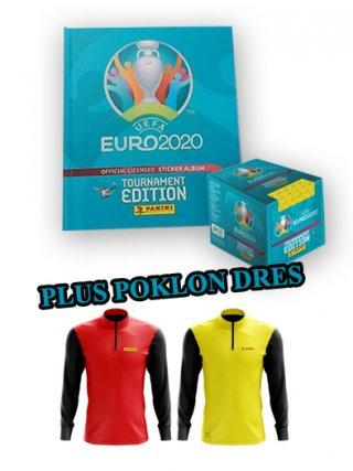 UEFA EURO 2020 TOURNAMENT EDITION - TVRDO KORIČENJE ALBUM + KUTIJA